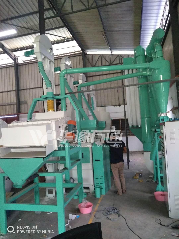 Lentil Peeling Machine